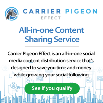 social content sharing service banner